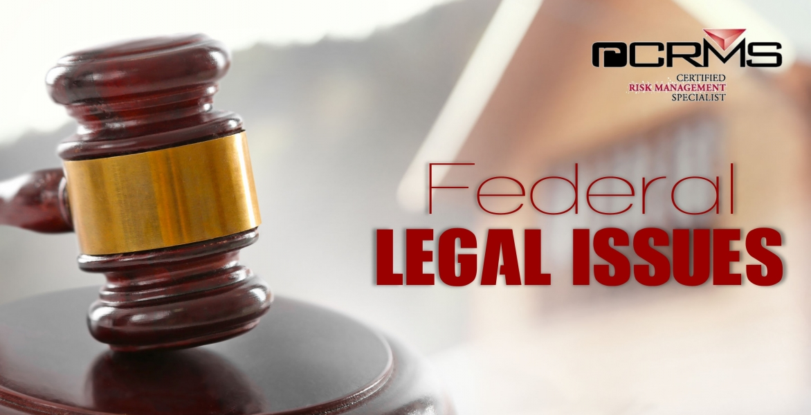 rCRMS - Federal Legal Issues